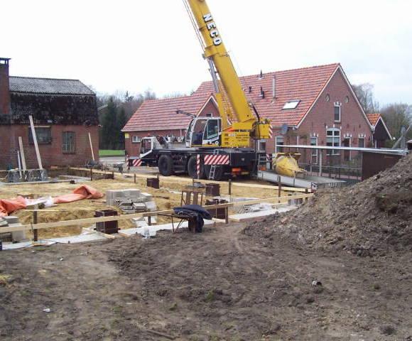 Nieuwbouw loods