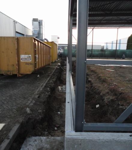 Nieuwbouw bedrijfshal winterswijk